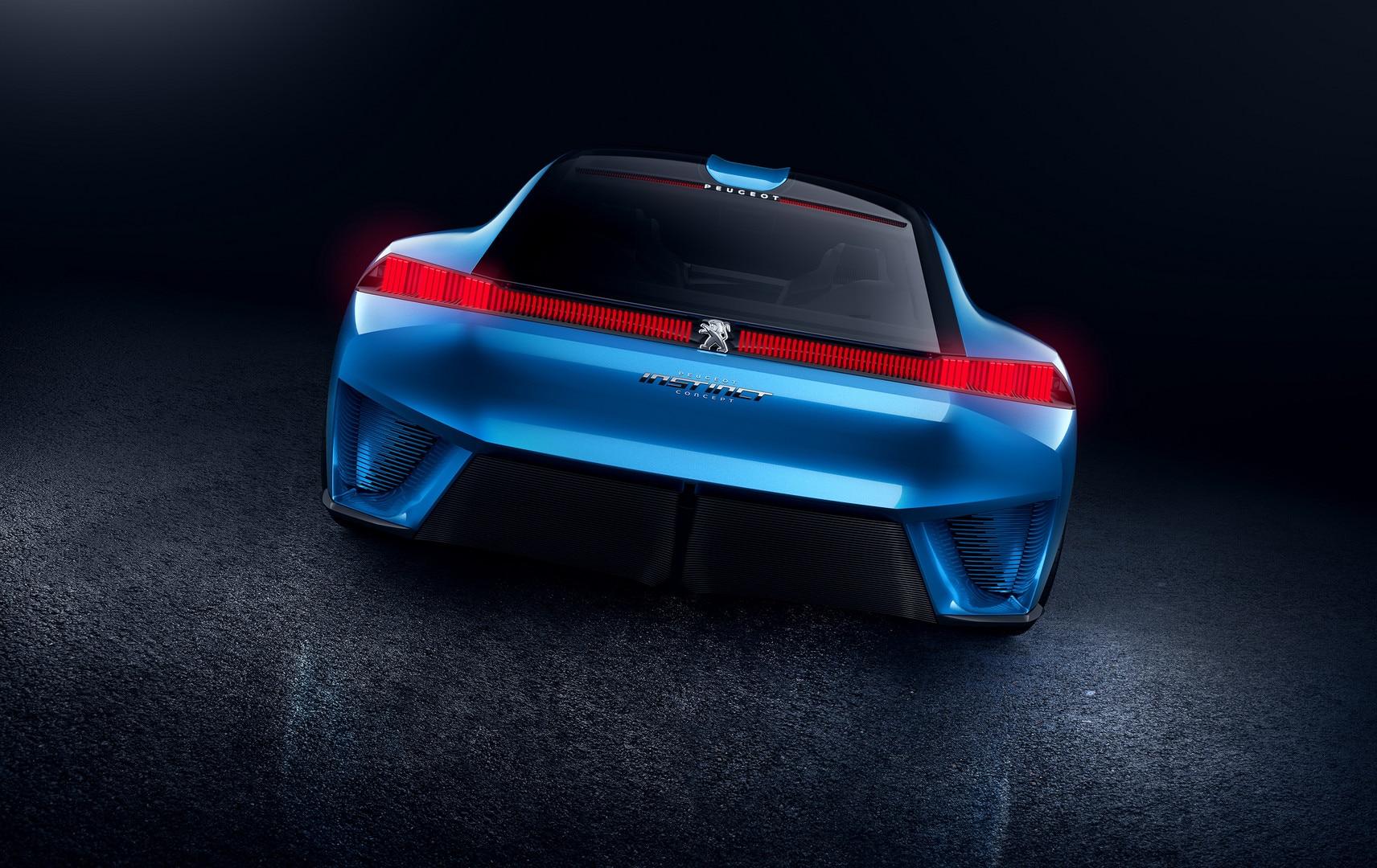 Peugeot Instinct Concept Photos Videos