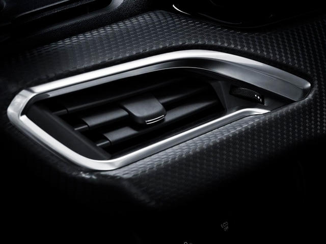 PEUGEOT 2008 SUV: cat's eye air vents at either end