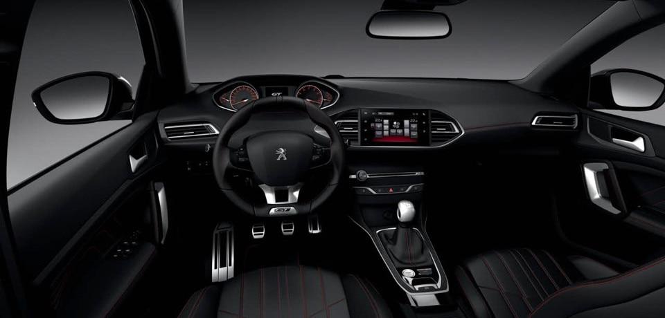 Peugeot 308 GT | Interior design and equipment
