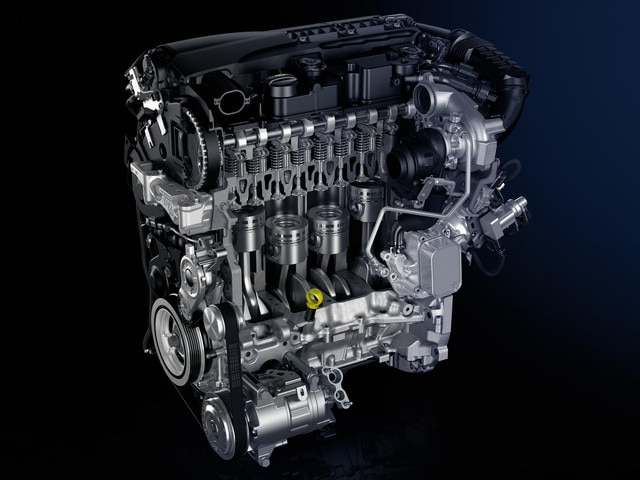 BlueHDi engine: particulate filter & selective catalytic reduction